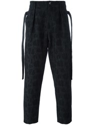 Damir Doma 'Picasso' Trousers Blue