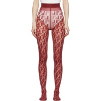 Fendi Red Forever Tights