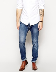 French Connection Slim Jean In Stone Washed Lightwash