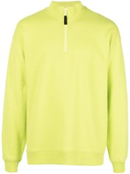 Opening Ceremony Logo Print Sweatshirt Yellow