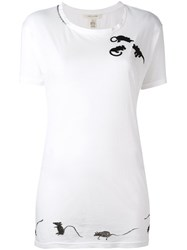 Marc Jacobs Mice Patch T Shirt White