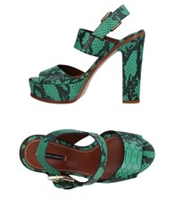 Liviana Conti Footwear Sandals Green
