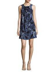 Marc By Marc Jacobs Printed Sleeveless Dress Gettysburg Blue