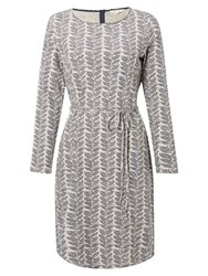 White Stuff Blueshore Jersey Dress Grey Marl