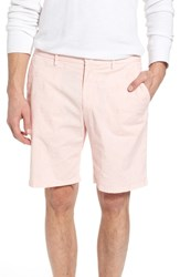 Vilebrequin Embroidered Twill Shorts Pink Sand