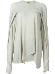 Lost And Found Draped Sweater Nude And Neutrals