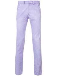 The Elder Statesman Classic Chinos Men Cotton 30 Pink Purple