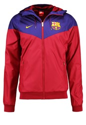 Nike Performance Fc Barcelona Club Wear Noble Red University Gold
