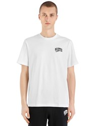 Bbc Billionaire Boys Club Arch Logo Printed Cotton T Shirt White