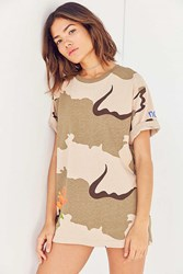 Bdg Camo Rose Tee Brown