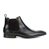 Paul Smith Shoes Men's Falconer Leather Chelsea Boots Black Oxford