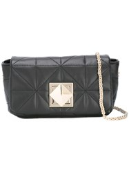 Sonia Rykiel Chain Strap Shoulder Bag Black