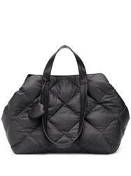 Moncler Oversized Quilted Tote Black