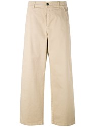 Barena Straight Leg Trousers Nude Neutrals