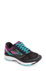 Brooks Women's 'Ghost 9' Running Shoe Black Sparkling Grape Ceramic