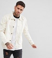 Brooklyn Supply Co. Ecru Denim Jacket Cr1 Cream 1
