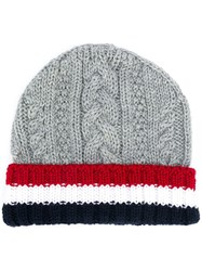 Thom Browne Cable Knit Beanie 60