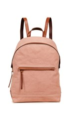 Madewell Classic Canvas Backpack Antique Coral