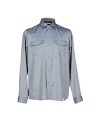 White Mountaineering Shirts Blue