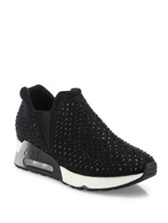 Ash Lifting Studded Sneakers Black