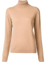 Vince Turtleneck Jumper Nude Neutrals