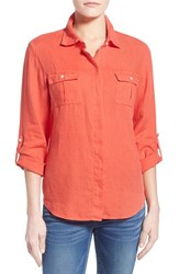 Women's Tommy Bahama 'Two Palms' Linen Camp Shirt