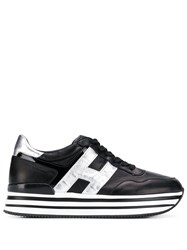 Hogan Interactive Sneakers Black