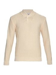 Inis Meain Shawl Neck Cotton Sweater