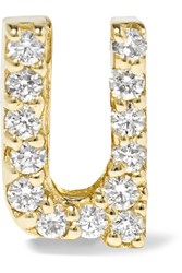 Alison Lou U 14 Karat Gold Diamond Earring