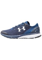 Under Armour Charged Bandit 2 Neutral Running Shoes Blackout Navy Black White Dark Blue