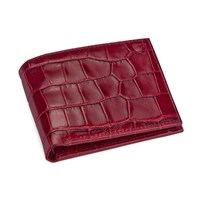 Aspinal Of London Billfold Coin Wallet Bordeaux