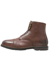 Hudson H By Wantage Laceup Boots Brown