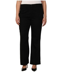 Nydj Plus Size Plus Size Gillian Trouser Black Women's Dress Pants