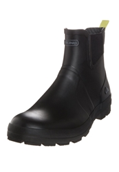 Viking Bergen Wellies Black Lime