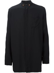Givenchy Loose Fit Long Sleeve Shirt Black