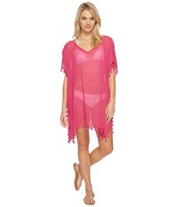 Seafolly Future Tribe Amnesia Kaftan Cover Up Tahiti Pink Women's Swimwear