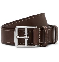 Andersons Anderson's 3.5Cm Brown Leather Belt Brown
