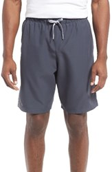 Under Armour Men's Mania Volley Swim Trunks Stealth Gray Overcast Gray