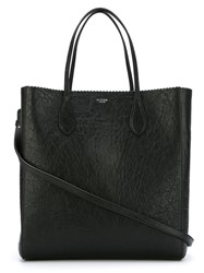 Rochas Textured Shopper Tote Black