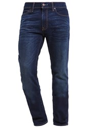 Abercrombie And Fitch Skinny Fit Slim Fit Jeans Dark Wash Blue Denim