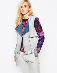 Finders Keepers Retrograde Jacket Denimroseprintdar