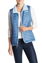 The North Face Fleece Lined Reversible Vest Blue