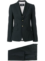 Dsquared2 Three Piece Trouser Suit Grey