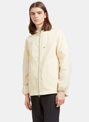 Acne Studios Motion Canvas Hooded Jacket Naturals