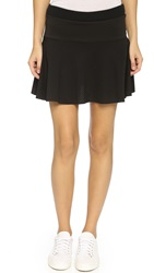 Rebecca Minkoff Rm Active Pipa Mini Skirt Black