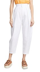 Edition10 High Waist Trousers Snow White