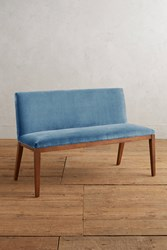 Anthropologie Velvet Emrys Bench Sky