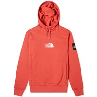 The North Face Fine Alpine Popover Hoody Red