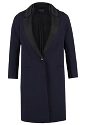 Eleven Paris Secret Short Coat Encre Dark Blue