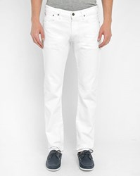 Polo Ralph Lauren White Slim Fit Jeans